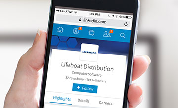 Lifeboat LinkedIn Mobile Device